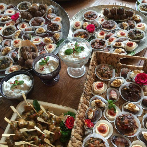 Gemischtes orientalisches Fingerfood